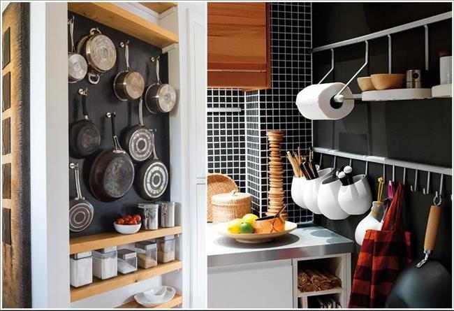 Cores para cozinhas pequenas