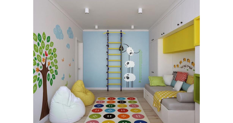 Quarto infantil - Móveis Planejados - Adesivos e Pinturas