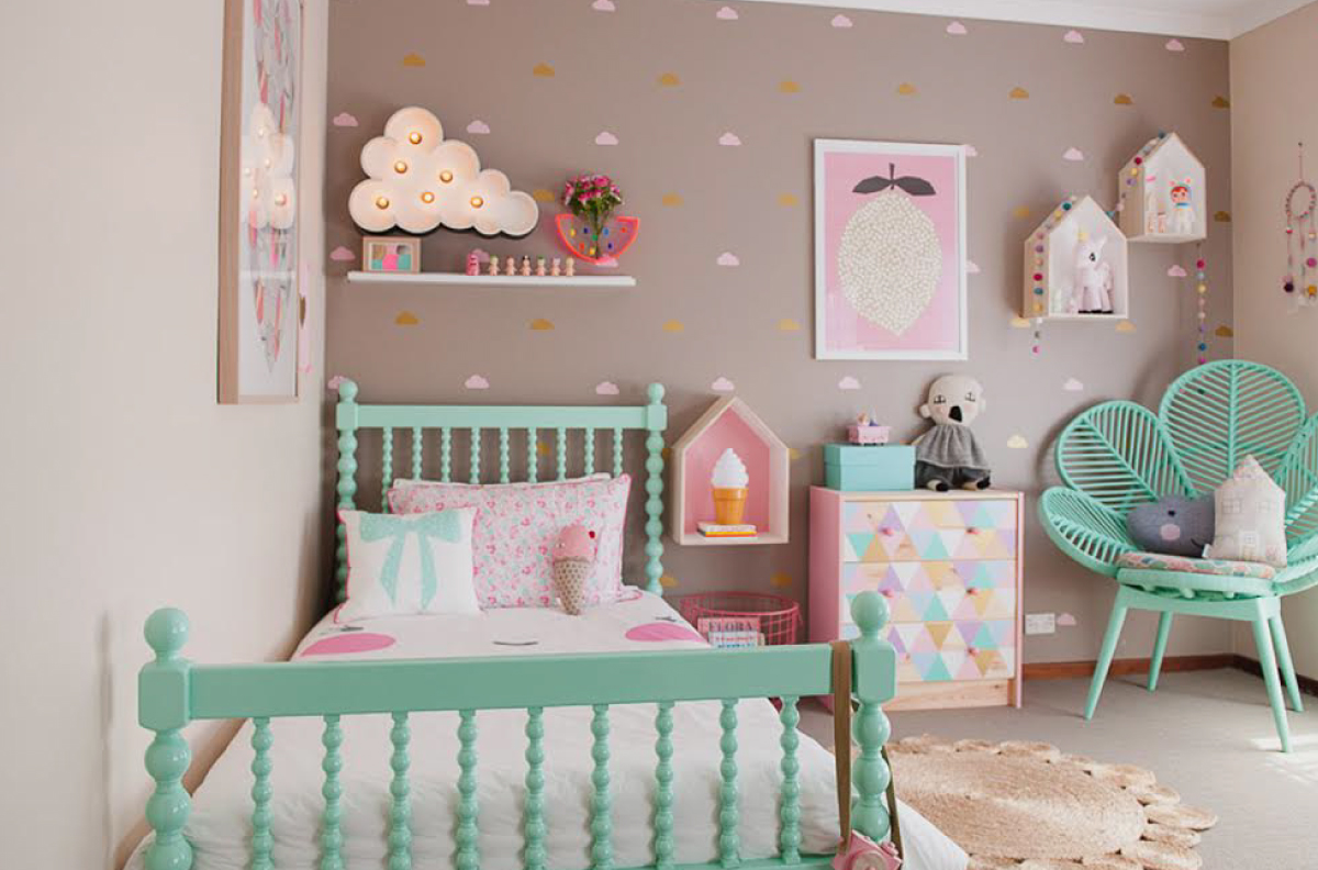 7 Inspiring Kid Room Color Options For Your Little Ones: Quarto Infantil: Decorar Para Brincar
