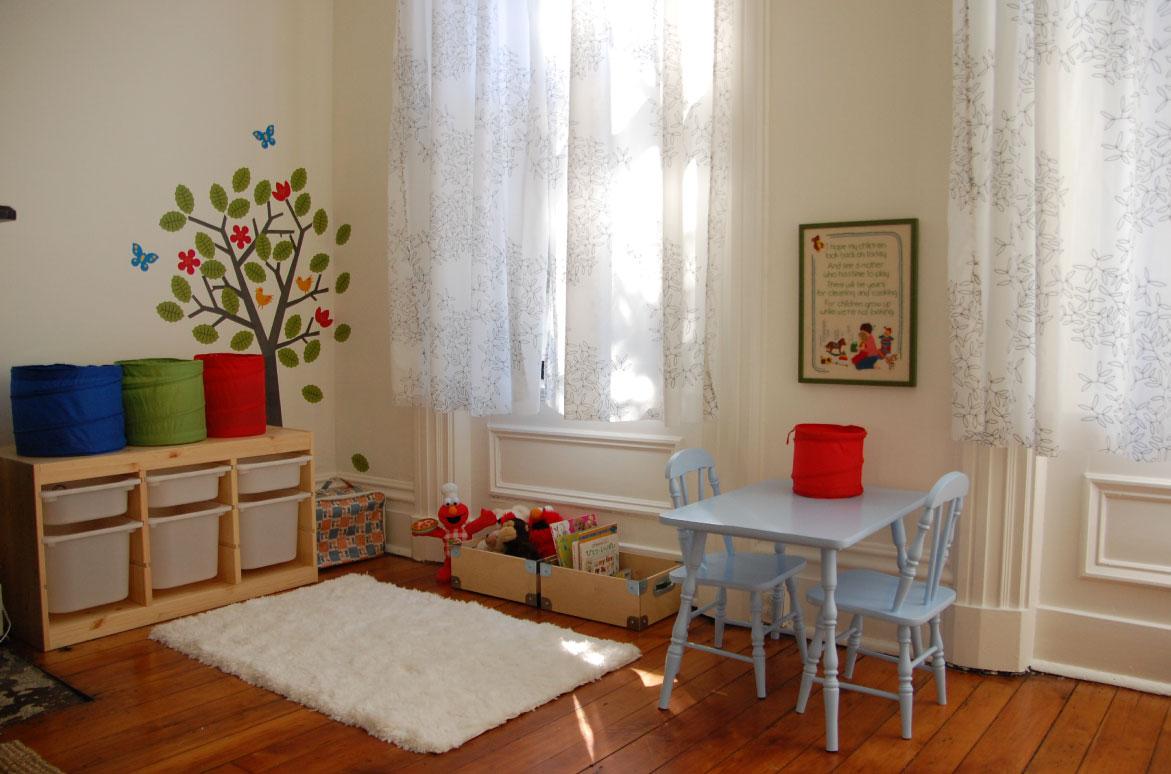 Sala de Estar - Cantinho do Brinquedo