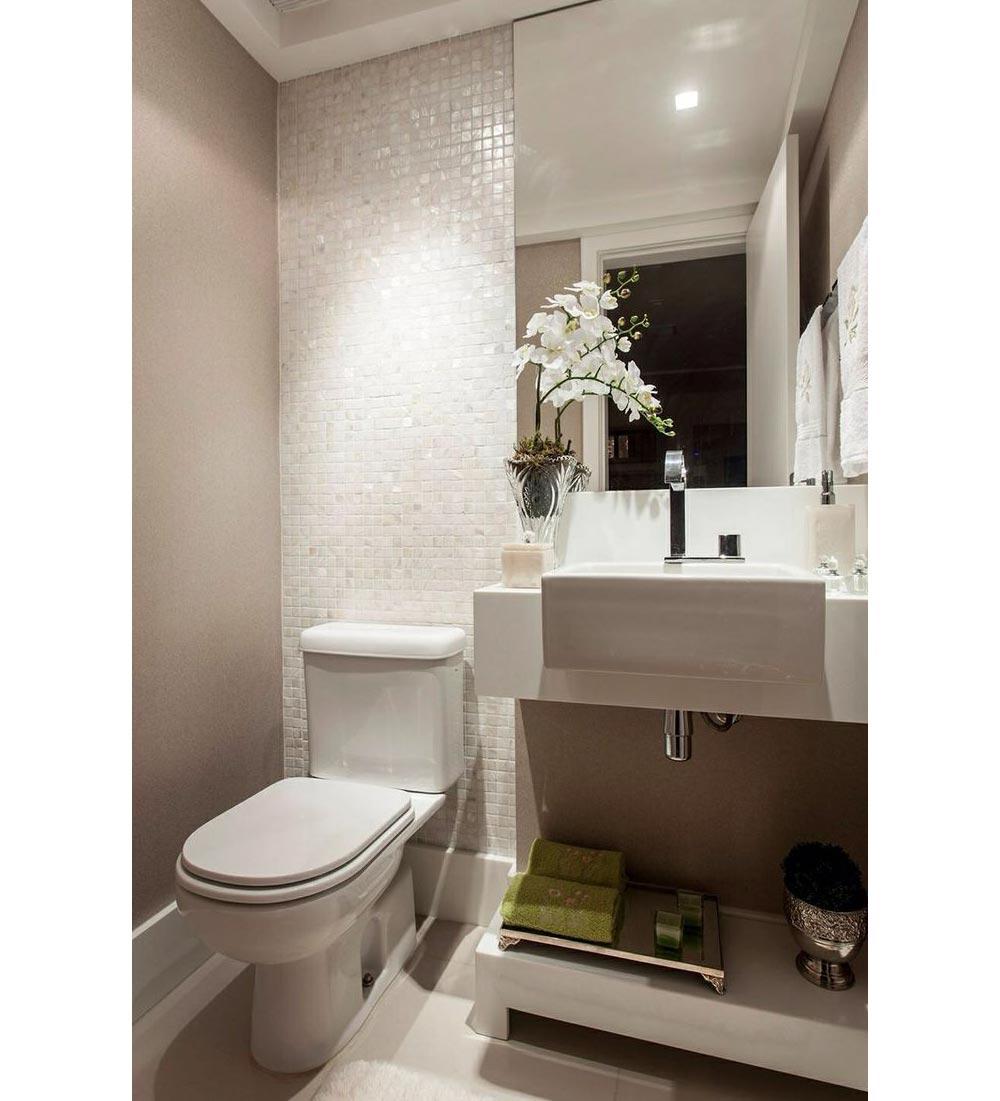 Decorando banheiro pequeno  Decor8 Móveis Planejados -> Dicas Banheiro Planejado