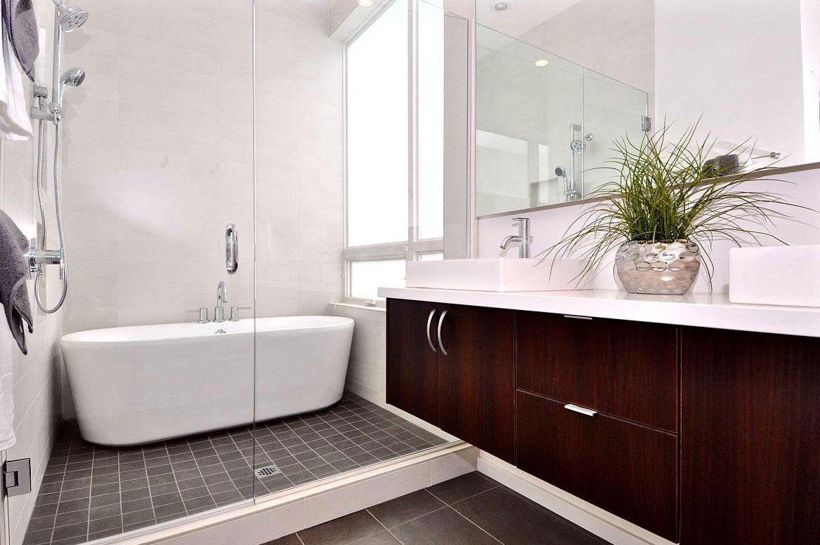 Banheiro planejado - Luz natural