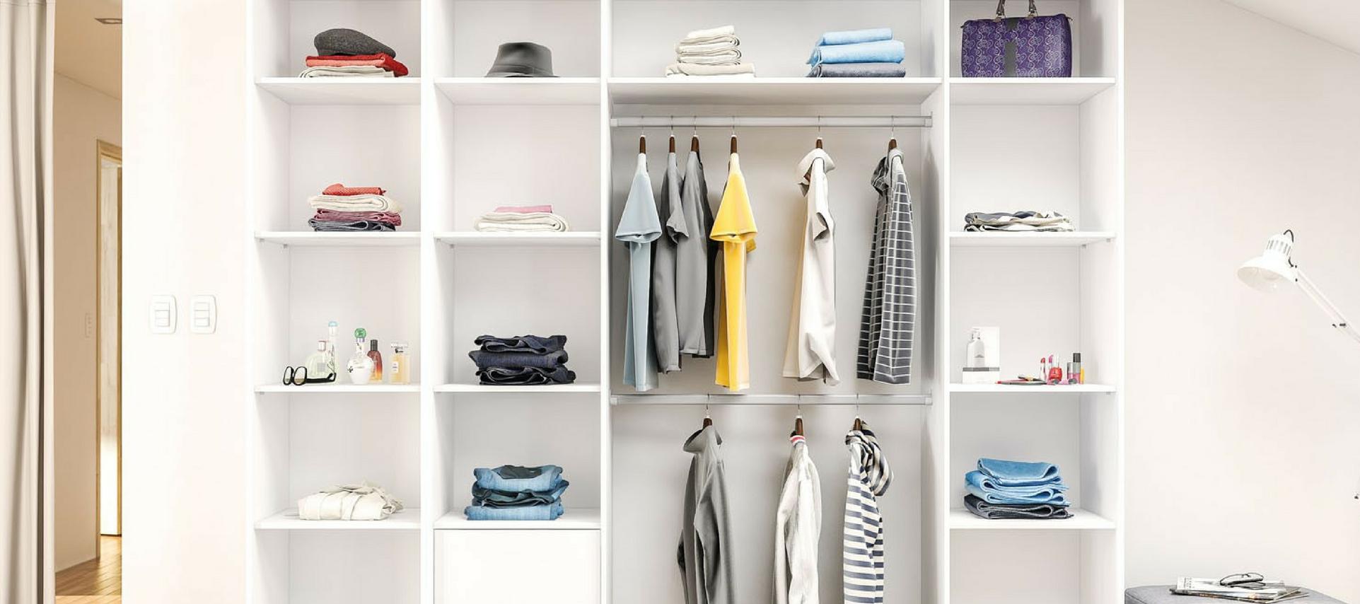 10 dicas para montar o closet dos sonhos