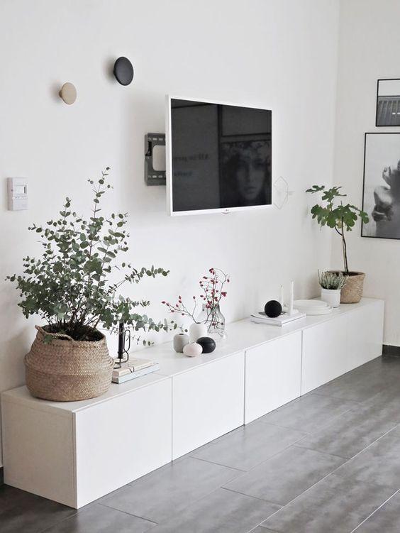 Dicas para adotar o estilo escandinavo na decora o for Muebles bajos de salon