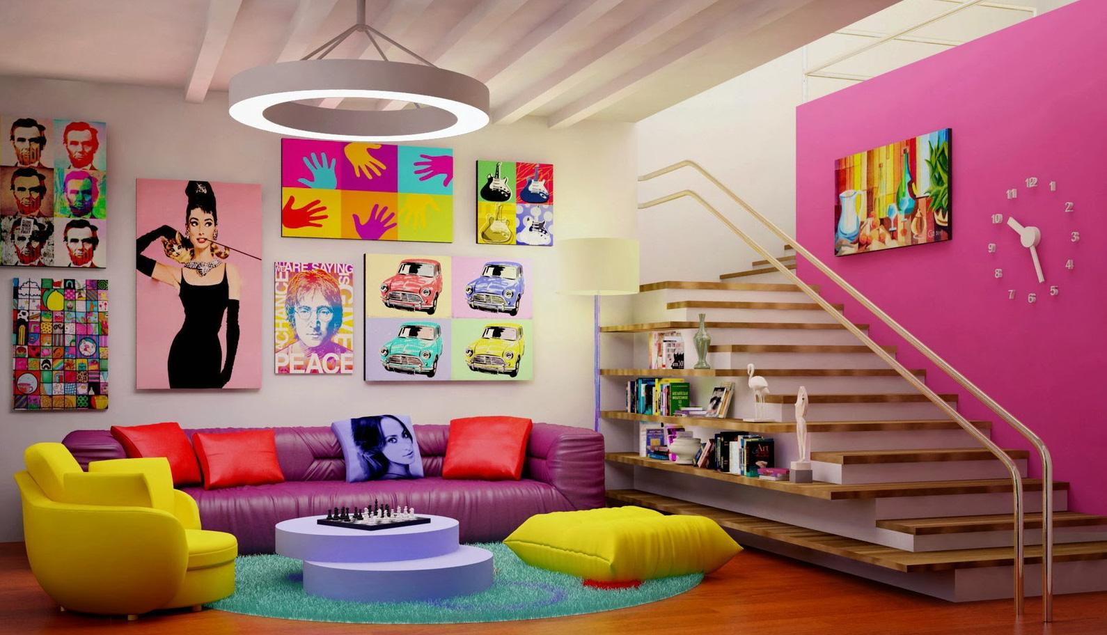Usando cores na decoração