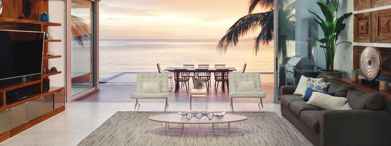 Como escolher móveis para sua casa de praia